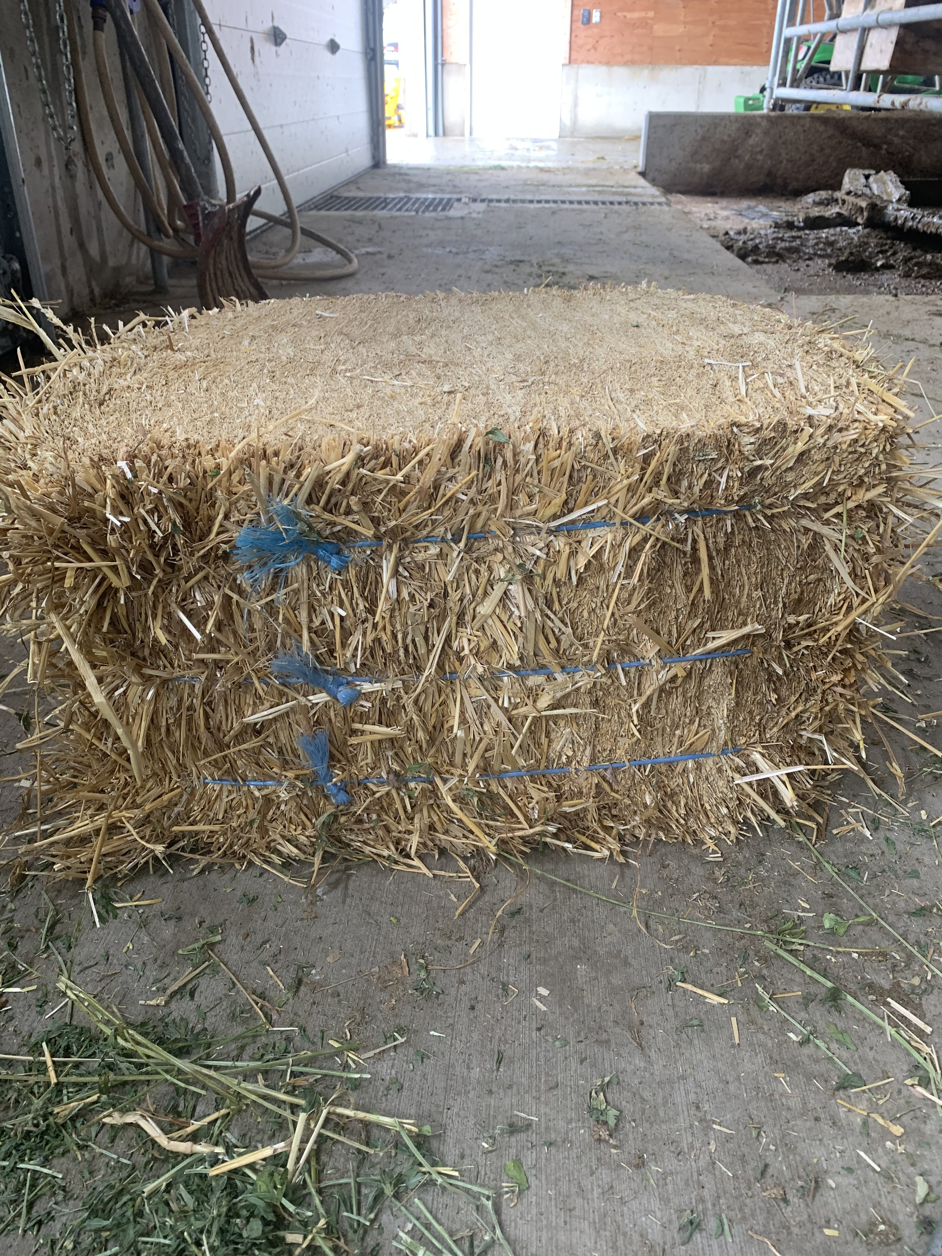 Straw Compressed Bale (45lbs)